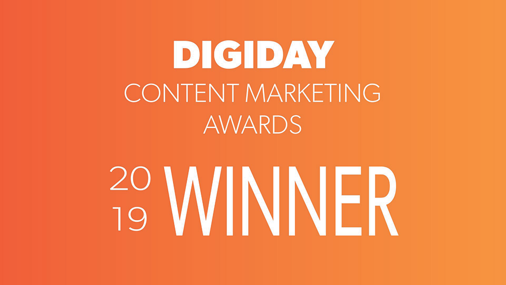Digiday Winner